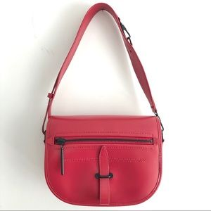 3.1 Phillip Lim Red Vendetta Large Convertible Bag